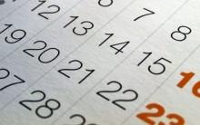 Calendário de Feriados 2014 – Informações