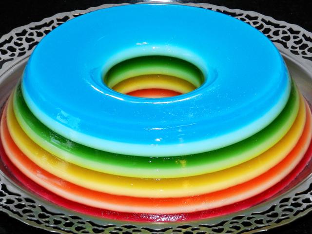 gelatina-arco-iris