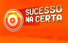 Quadro Sucesso na Certa do Programa Melhor do Brasil