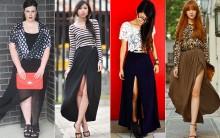 Tendência Vestidos e Saias com Fenda – Fotos e Como Usar
