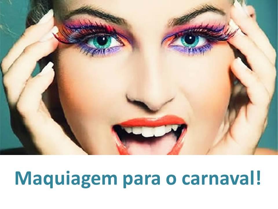 Maquiagem Para o Carnaval – Dicas e Passo a Passo