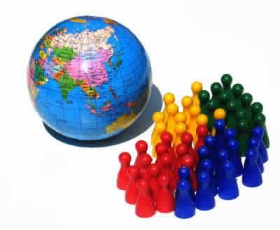 População Mundial – Crescimento Vegetativo e Densidade Demográfica