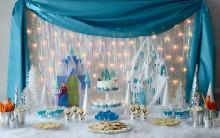Decoração Festa Infantil Tema Frozen – Uma Aventura Congelante – Fotos e Dicas