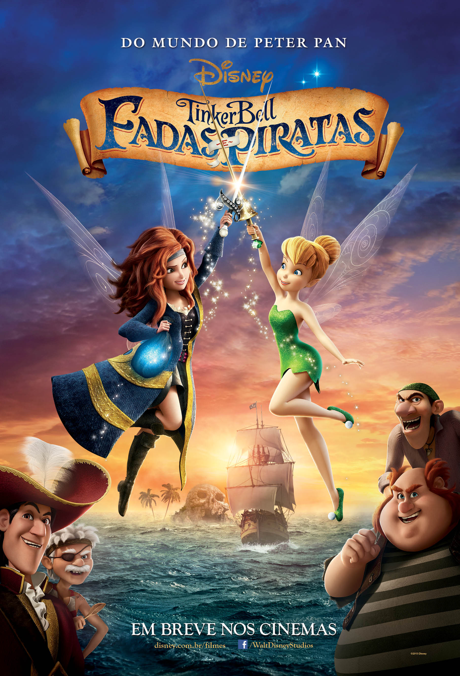 Filme Tinker Bell Fadas e Piratas – Sinopse, Elenco e Trailer