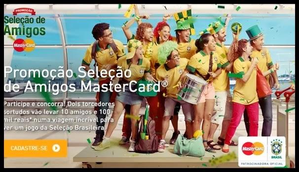 Seleção de Amigos Promoção Mastercard – Prêmios e Como Participar