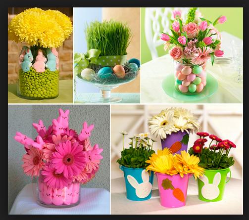 Decoração Para a Páscoa 2014 – Fotos e Como Fazer. Flores