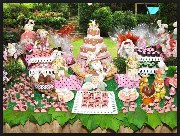 Decoração Para a Páscoa 2014 – Fotos e Como Fazer. Mesa Chocolate