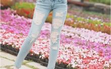 Moda Jeans Rasgado – Como Usar