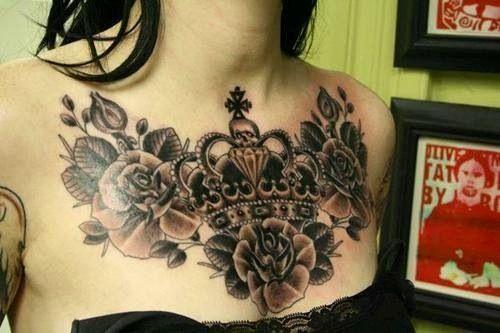 tatuagem-coroa-flores