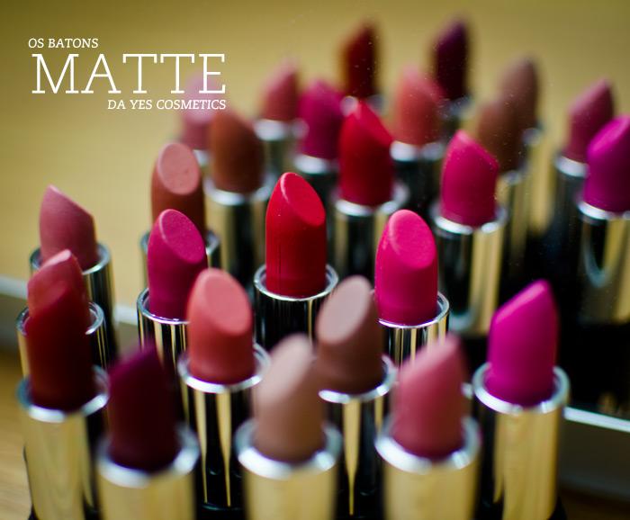 Batons Matte Yes Cosmetics – Linha, Preços e Onde Comprar