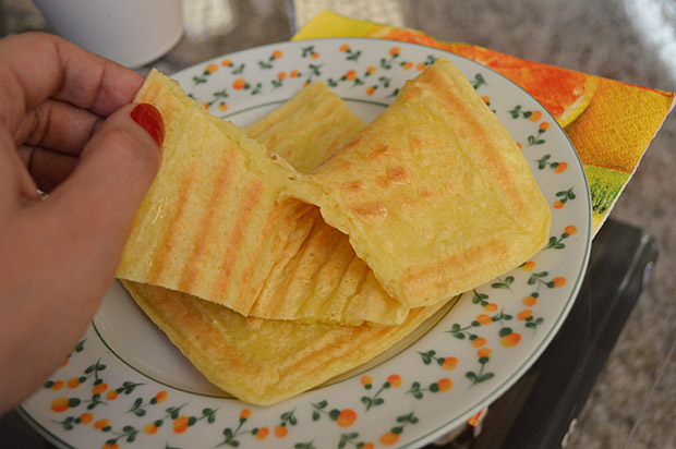 Pão de Queijo Express Light – Receita