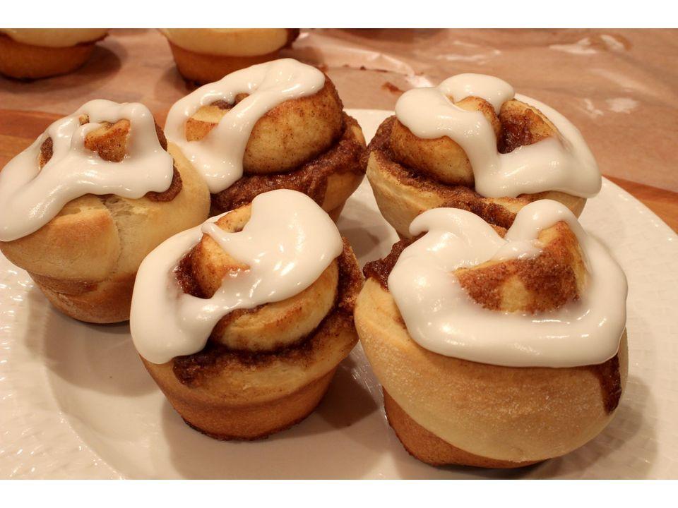 Cinnamon Roll – Receita