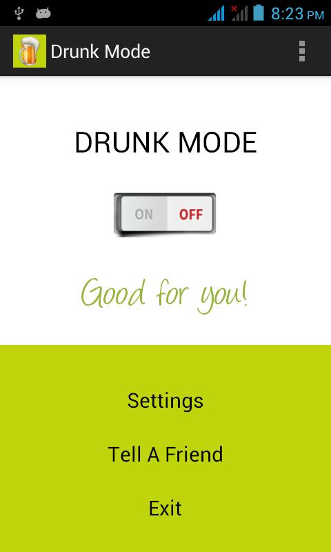 drunk-mode-app