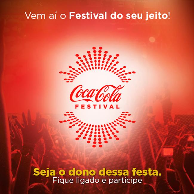 Coca-Cola Festival 2014 – Atrações, Concurso e Ingressos