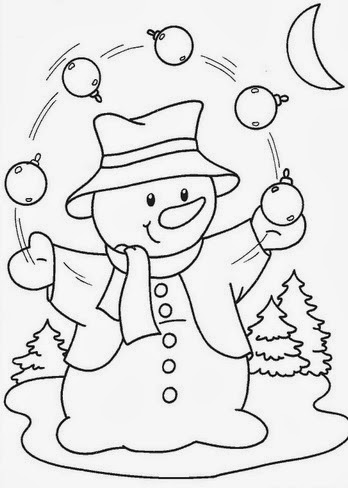 risco-pintura-boneco-neve