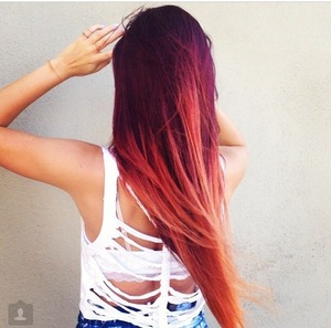 fire-ombre-hair