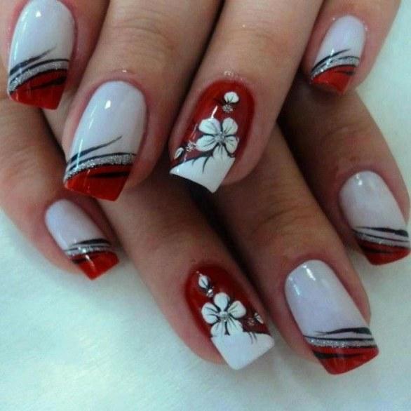 unhas-pintadas-natal-branco