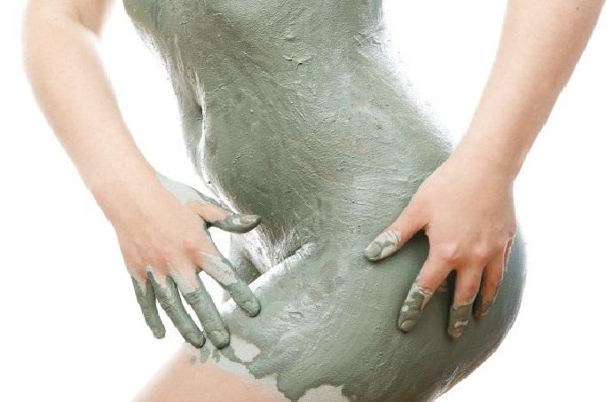 Argila Verde Contra a Celulite.