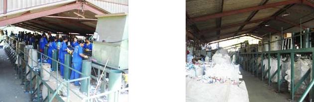 Coleta seletiva de lixo, cidade de barueri. Cooperativa