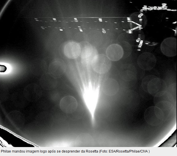 Robô Espacial Da Agência Européia. Rosetta