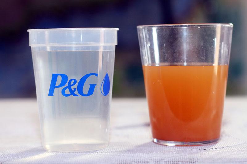 P&G Sachet Água Limpa – Informações