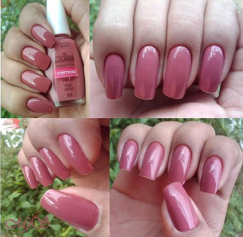 unha-pintada- rosa- antigo