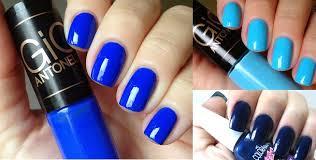 unhas-pintadas-tons- azul