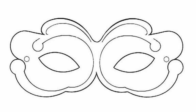 mascara-carnaval-molde 1