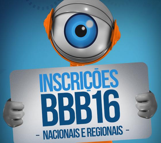 Big Brother Brasil 2016. Inscrição