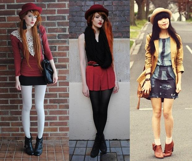bfd27bf861a6b Pode ser usado no inverno ou no verão. Ao escolher este estilo de chapéu  procure usar roupas pretas