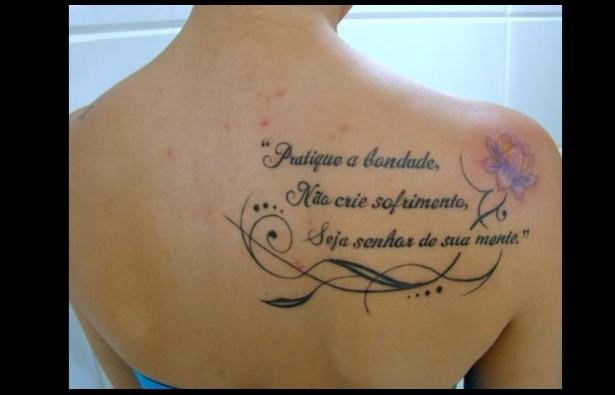 Frases Para Tatuagens Fotos E Dicas