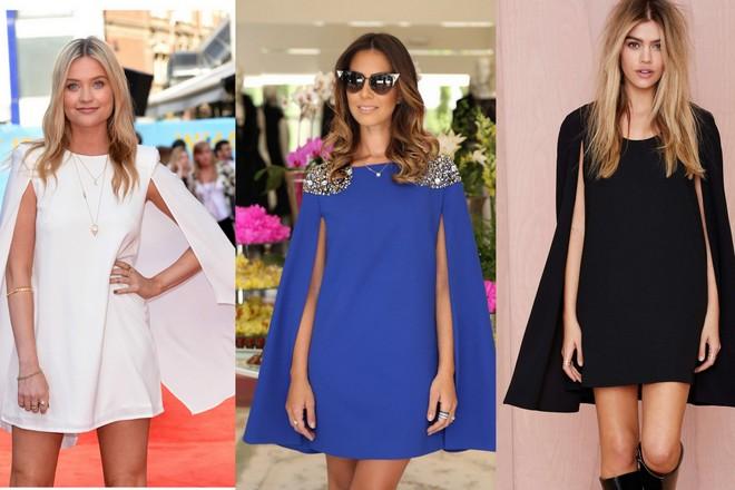 Vestido-Capa ou Cape Dress-curto 2