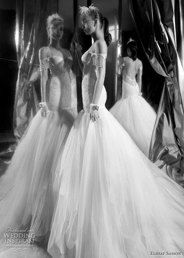 vestido-noiva-sereia-Elihav Sasson