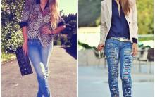 Calça Jeans Destrayed – Como Fazer  Passo a Passo