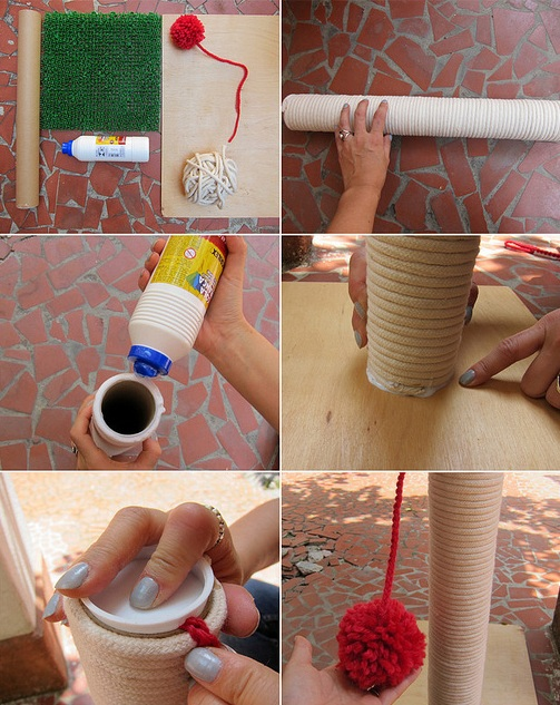 Arranhador-Chão