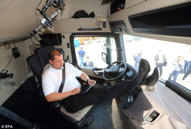 Caminhão Sem Motorista o Future Truck – Detalhes e Vídeo