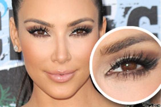 Cilios-Kim Kardashian