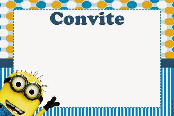 Minions-Convites
