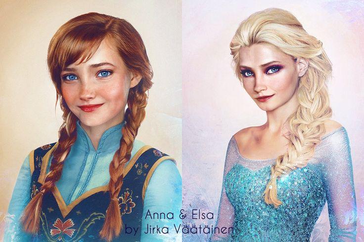 Príncipes e Princesas da Disney Se Fossem de Verdade – Fotos