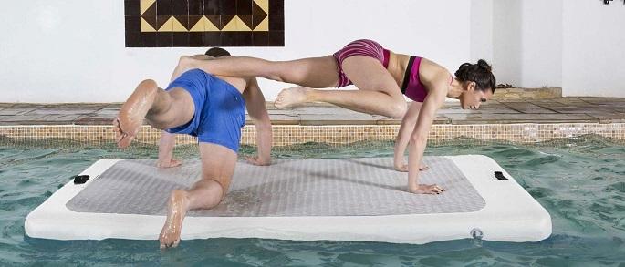Yoga-na-água