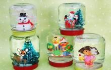 Enfeite de Natal Uma Bola de Neve – Passo a Passo