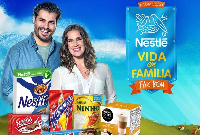 Nestlé Vida em Família Promoção – Luciano Huck– Como Participar