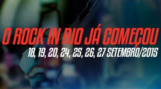 Rock In Rio Brasil 2015 – Bandas e Programação
