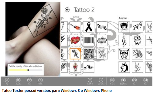 Tattoo-Tester-versões