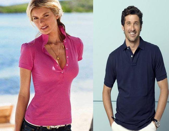 Camisa Polo Feminina e Masculina - Quais as Diferenças 9901be055ed