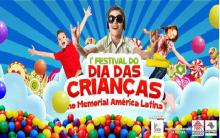Festival Memorial da América Latina – Atrações