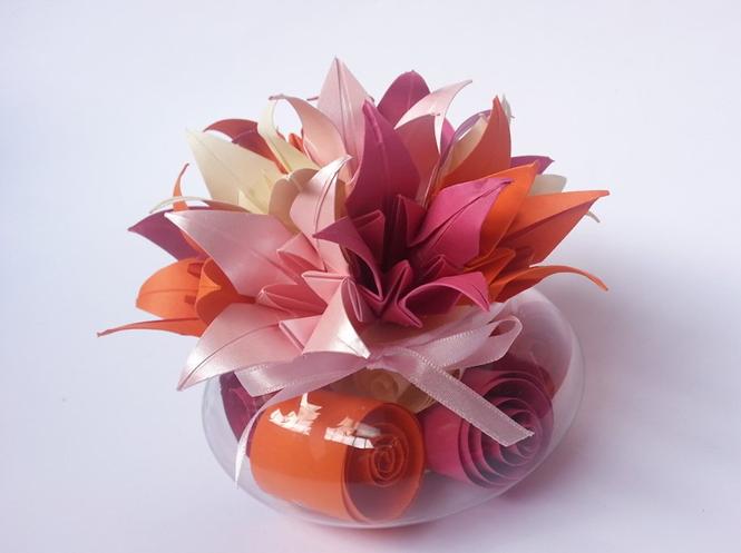 Origami-casamento-vaso