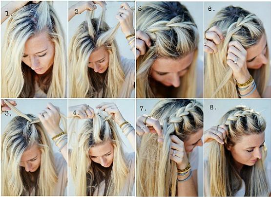 Penteado-trança-como fazer
