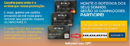 Riachuelo-Promoção-cpf