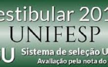 UNIFESP Vestibular Misto 2016 – Inscrições Abertas